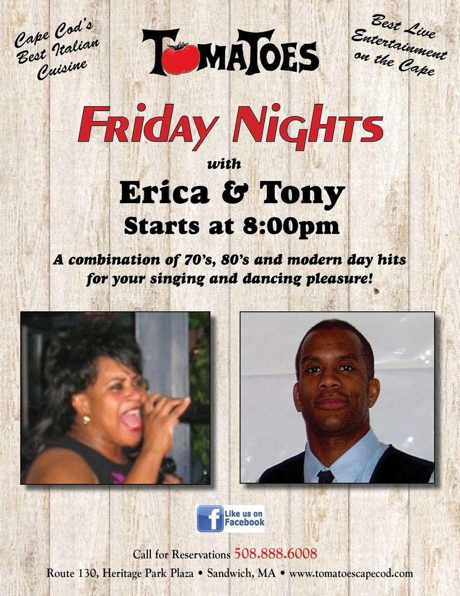 Erica Abney and Tony Bailey