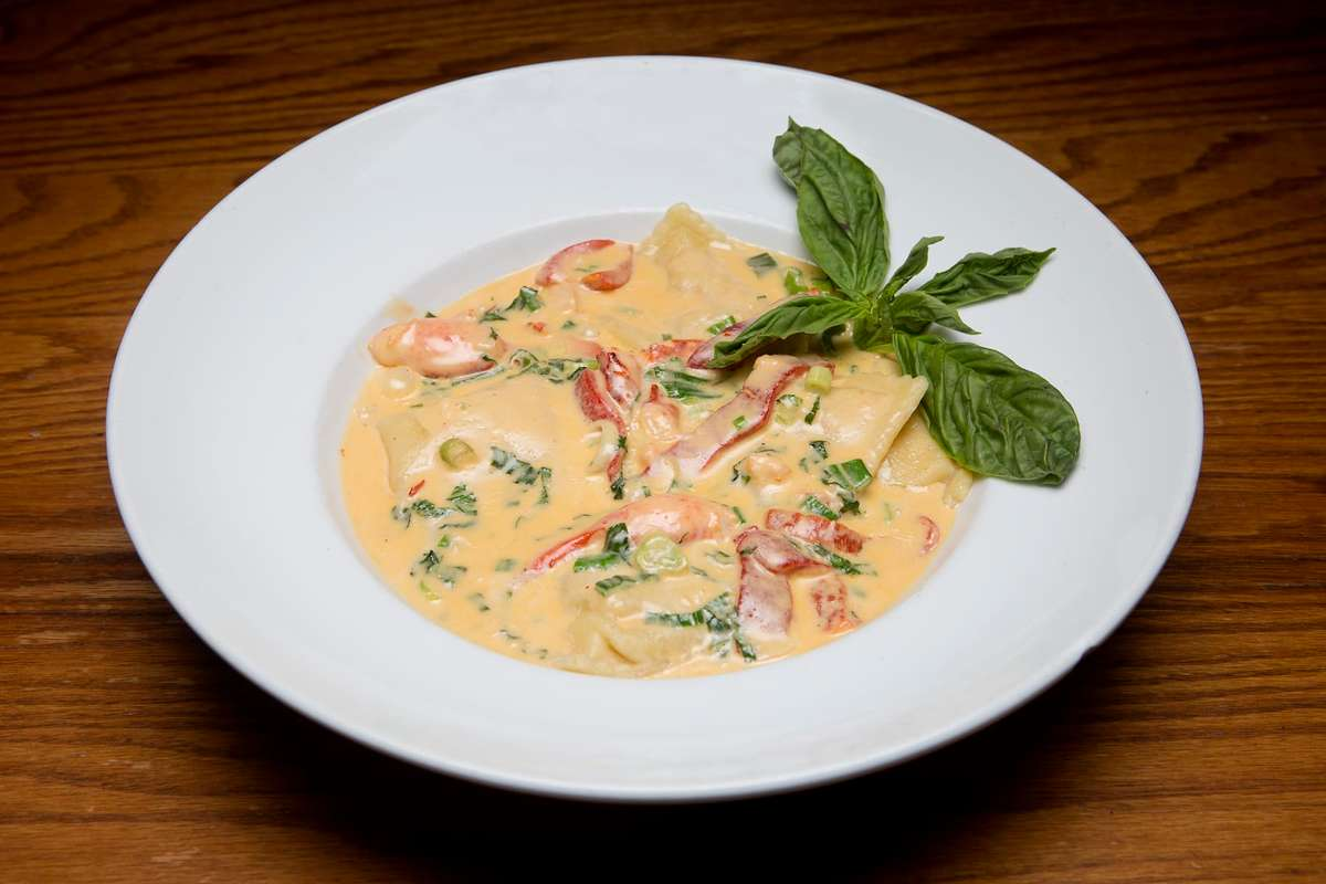 Homemade Lobster Raviolis