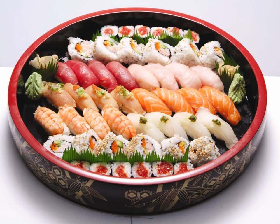 Asagao Sushi Platter