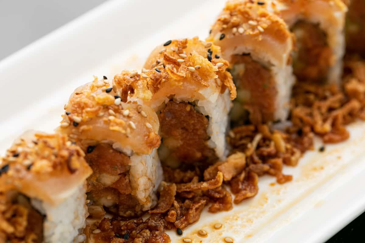 Albacore Onion Roll
