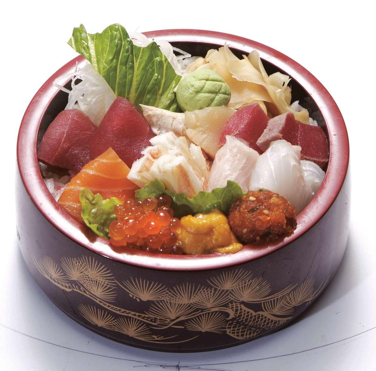 Chirashi lunch