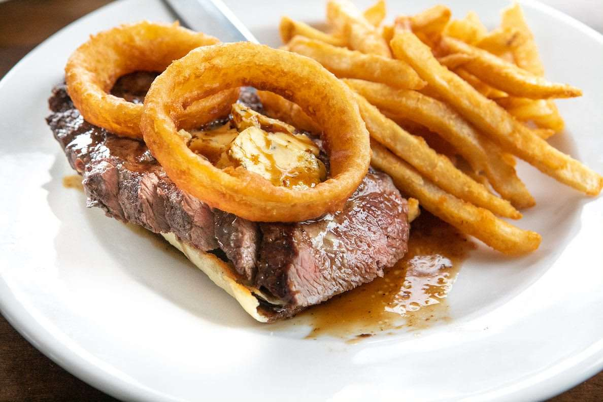 Open Face Steak