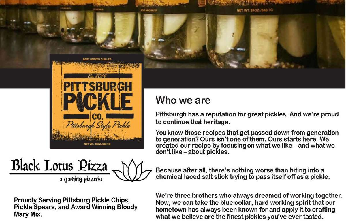 Pittsburgh Pickle Co.