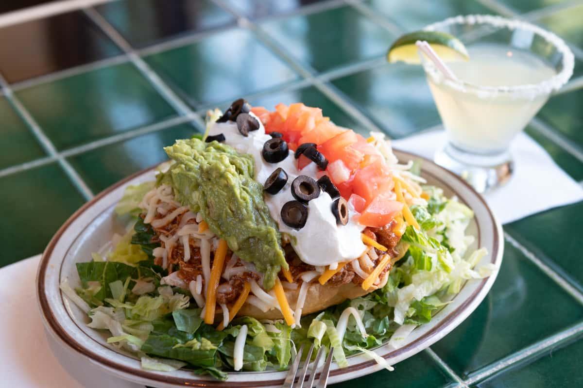 La Mexicana Taco Salad