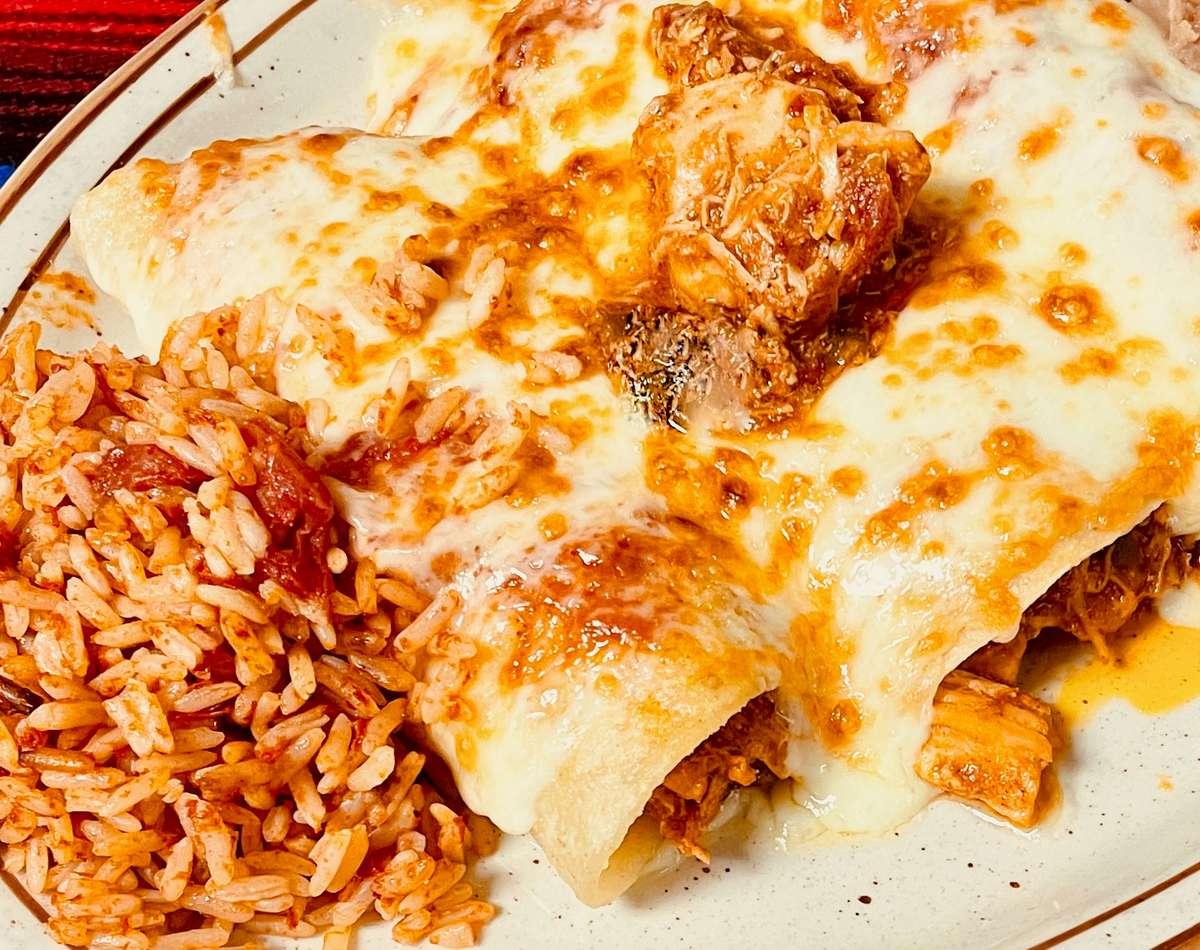 Chicken and Cheese Enchiladas (3)