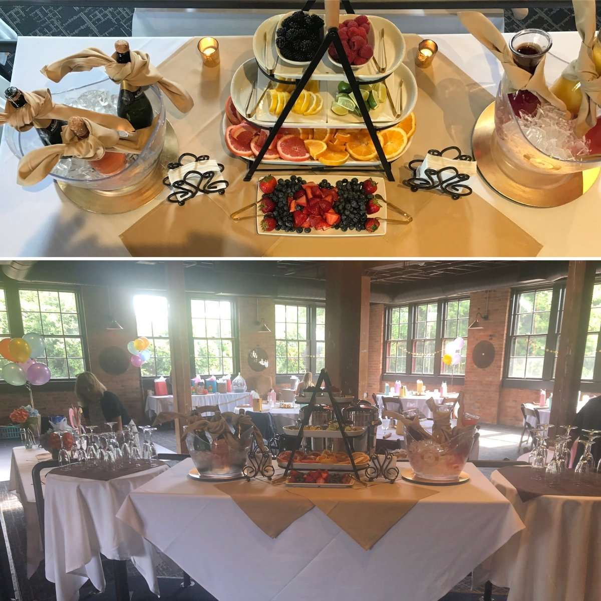 Mimosa Bar For Baby/Bridal Showers