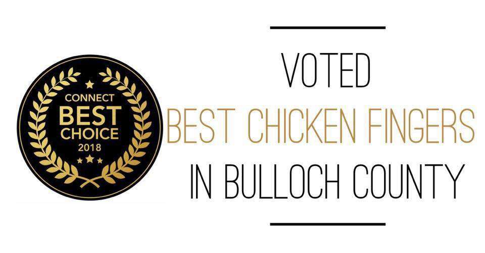 Voted Best Chicken Tenders in Bulloch County