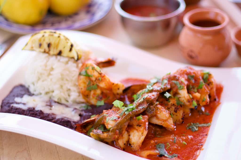 Spicy Mexican Shrimp