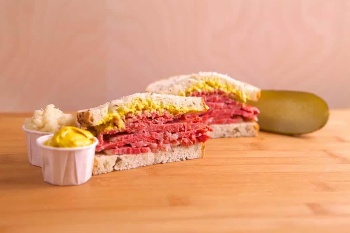 Magee's Kitchen deli sandwich