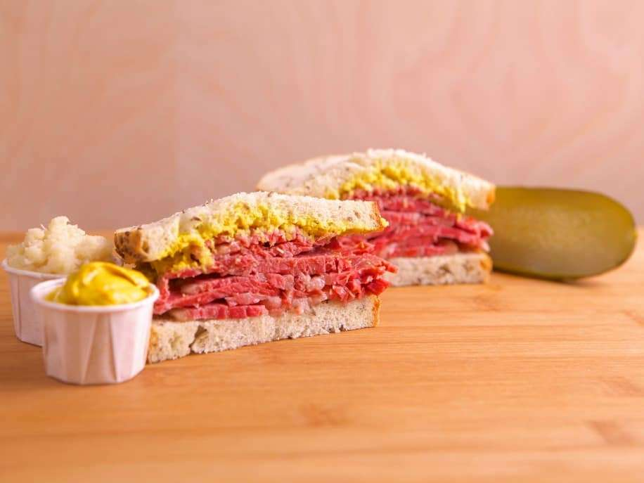 The Original corned beef sandwich