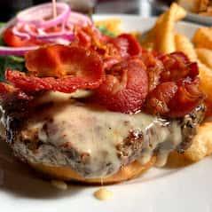 Bacon Cabot Cheddar*