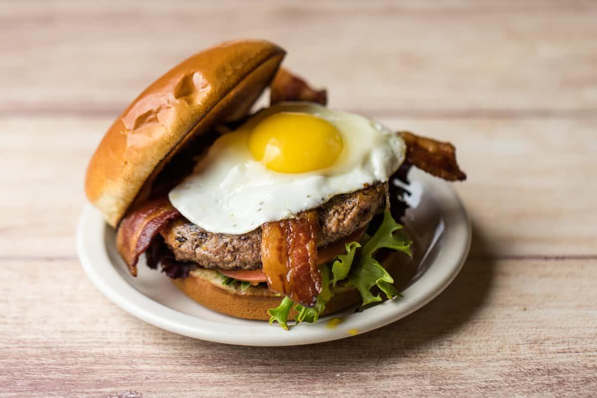 Farmhouse Brunch Burger*