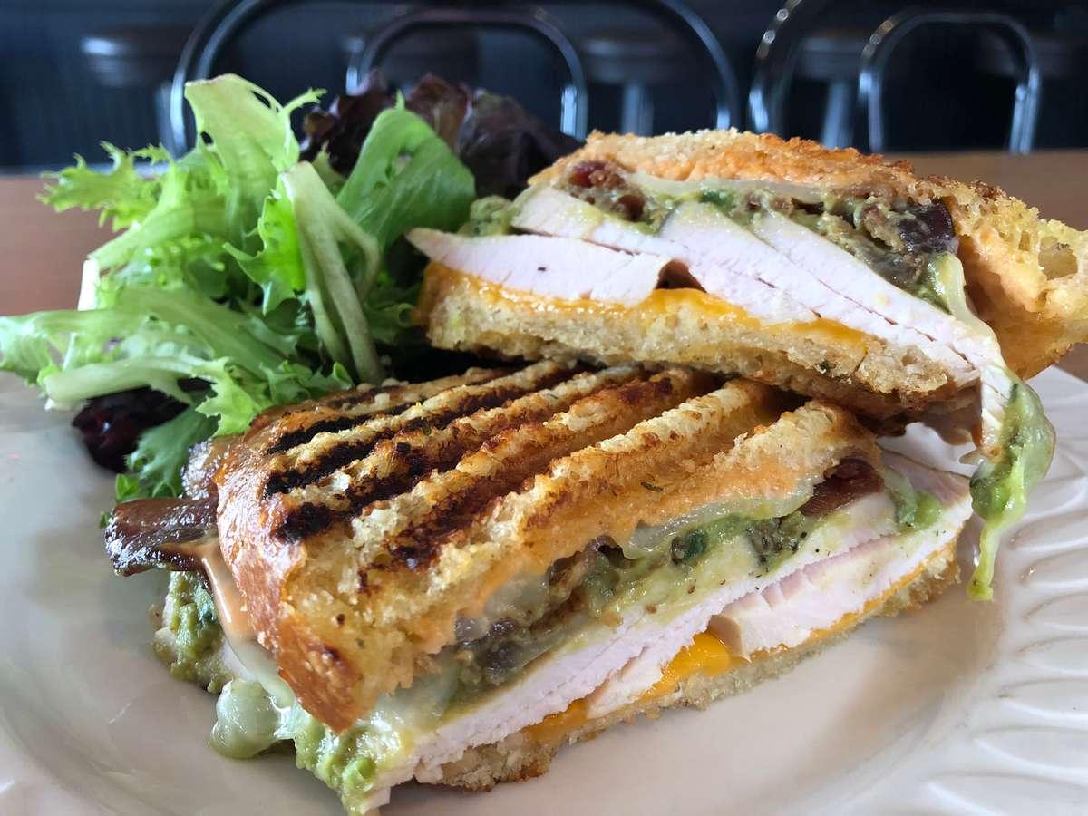 Grilled Turkey Club