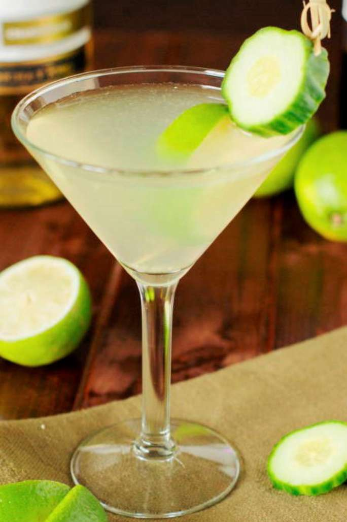 Cucumber Breeze Martini