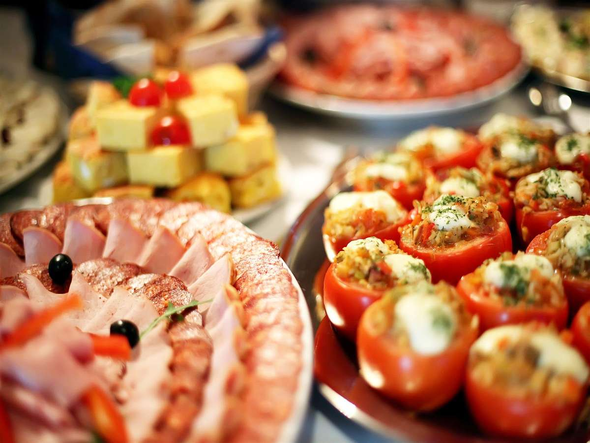 catered trays