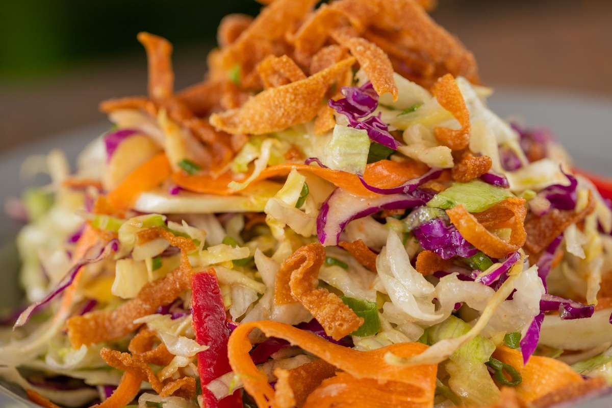 Asian Salad (serves 5 entrees/ 10 sides)