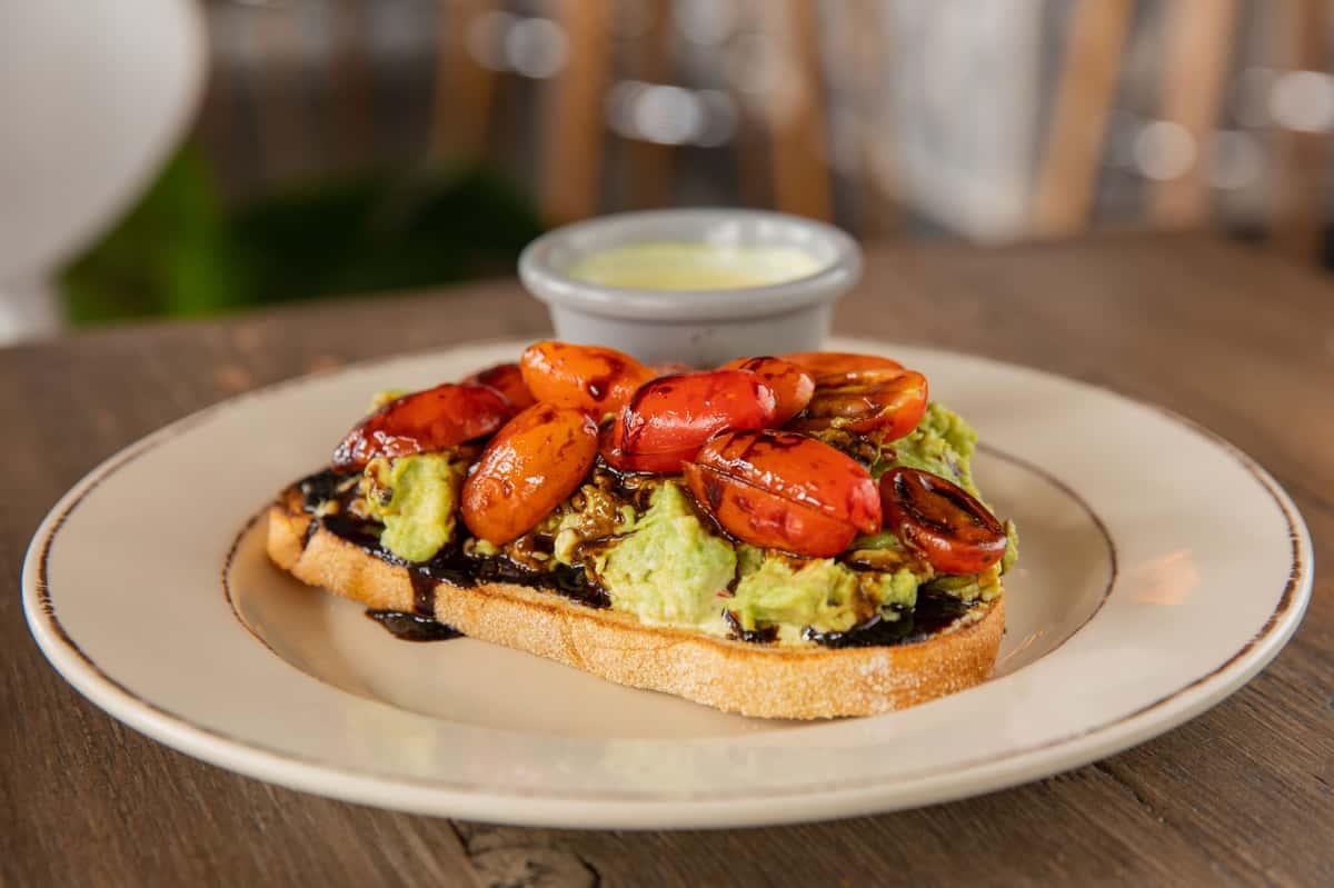 Avocado and Tomato Toast