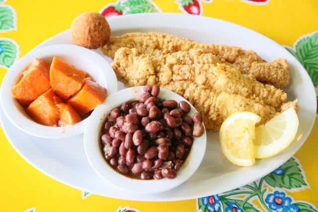 Catfish Fillet Delight Dinner