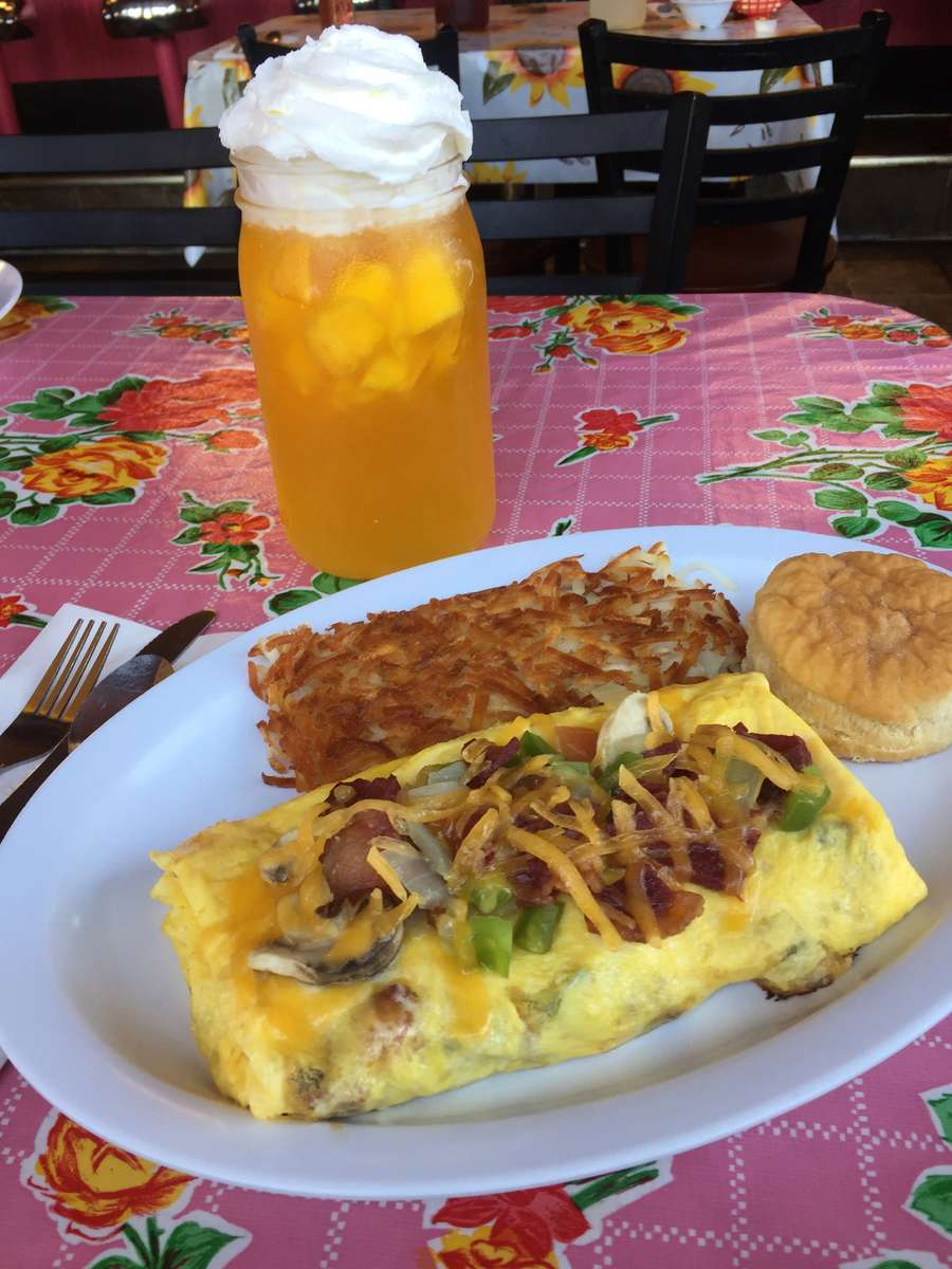 Southern Garden Omelet