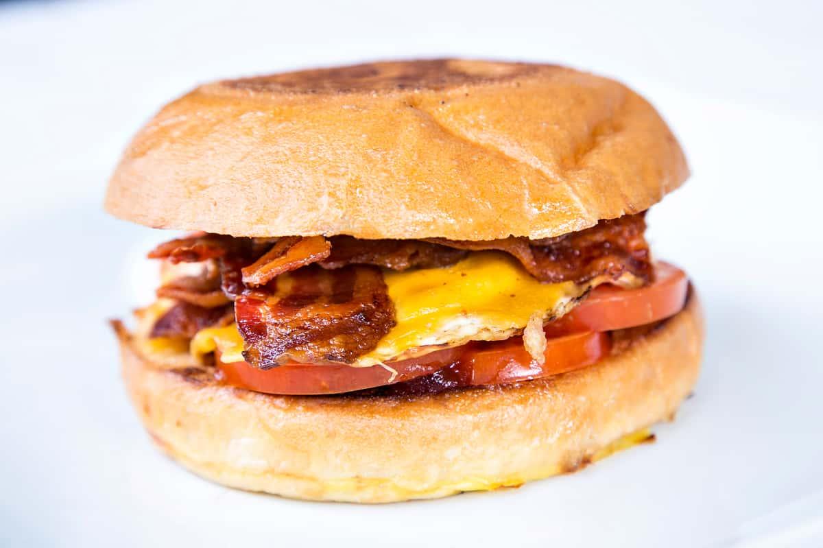Bacon Egg Brioche