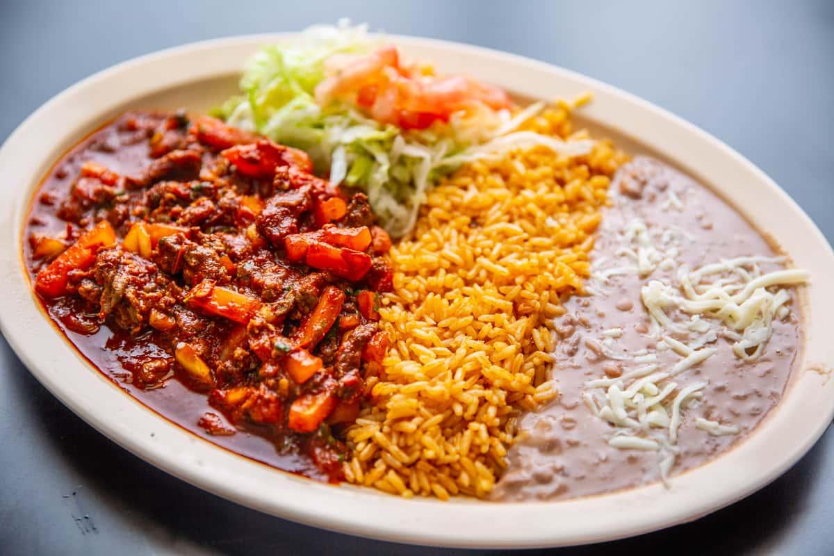 Bistek a la Mexicana
