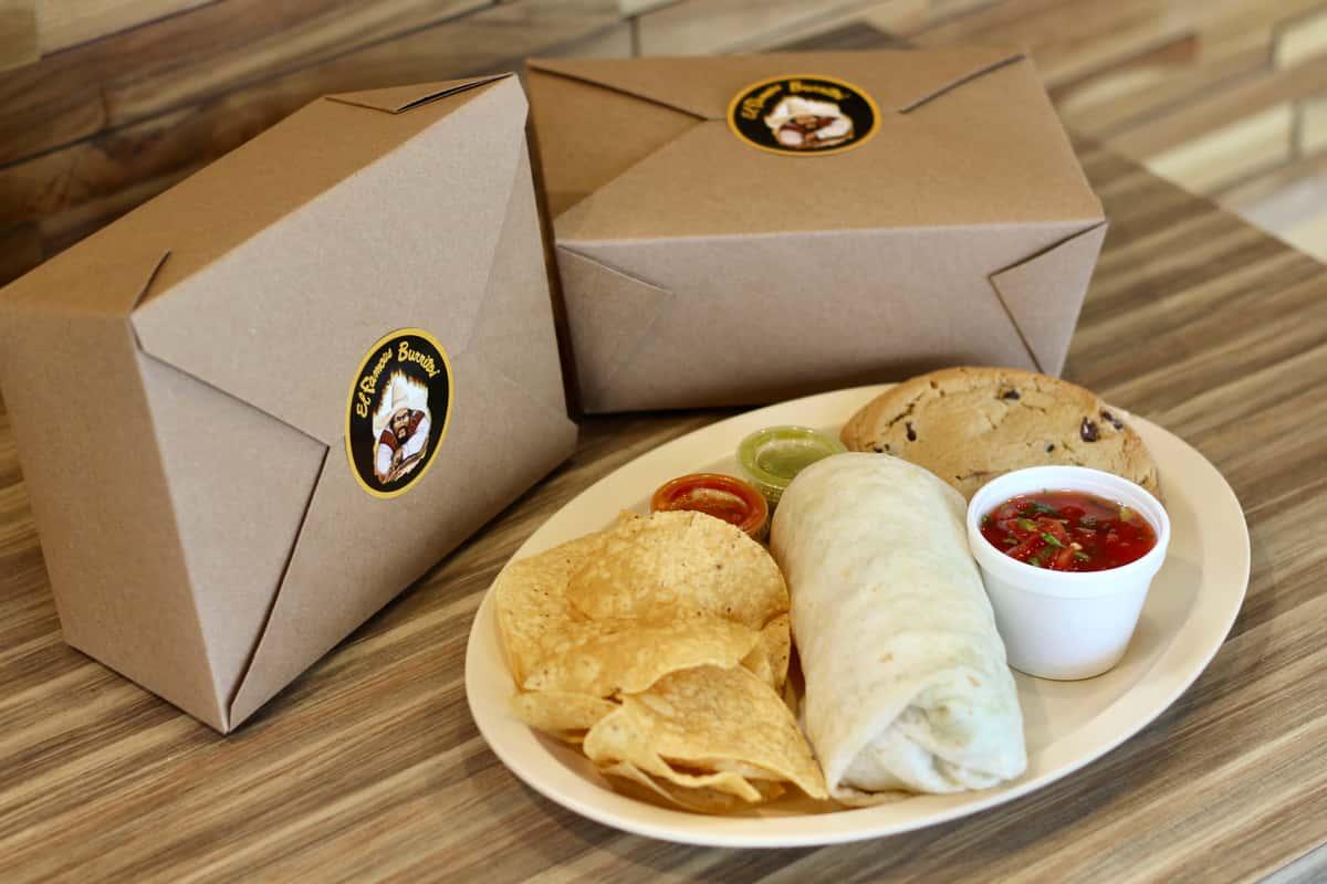 Grab & Go Burrito Box