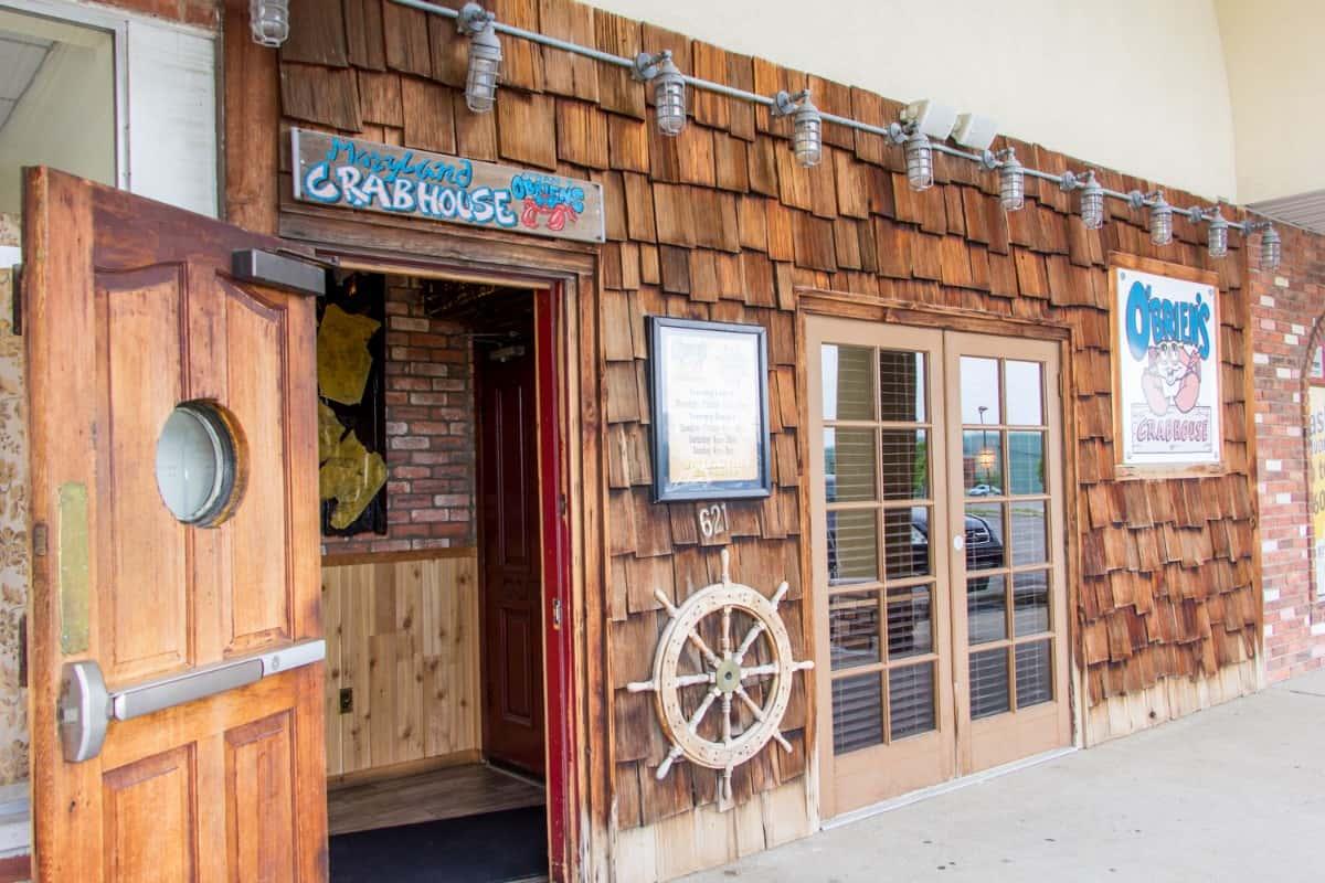 Obrien's Crabhouse exterior entrance
