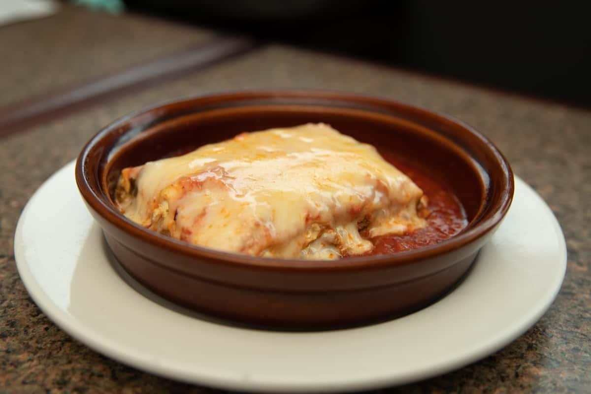 Meat Lasagna Tray