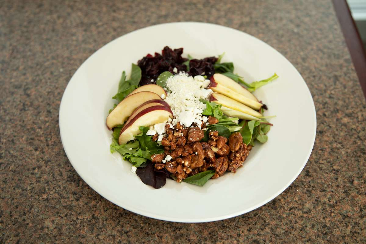 Apple Goat Cheese Salad