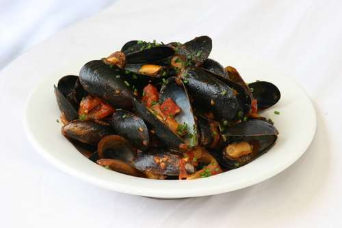 Mussels Fra Diavolo Tray