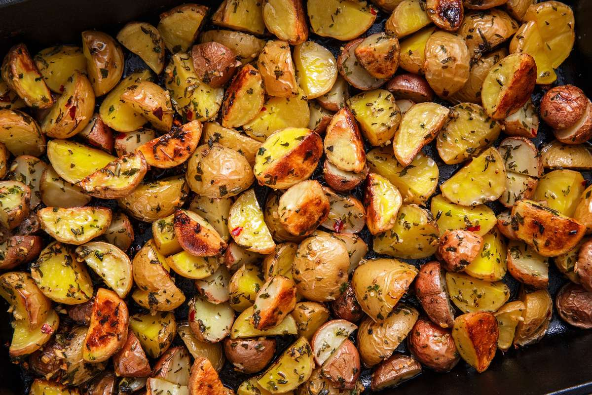 Oven Roasted Potatoes Tray
