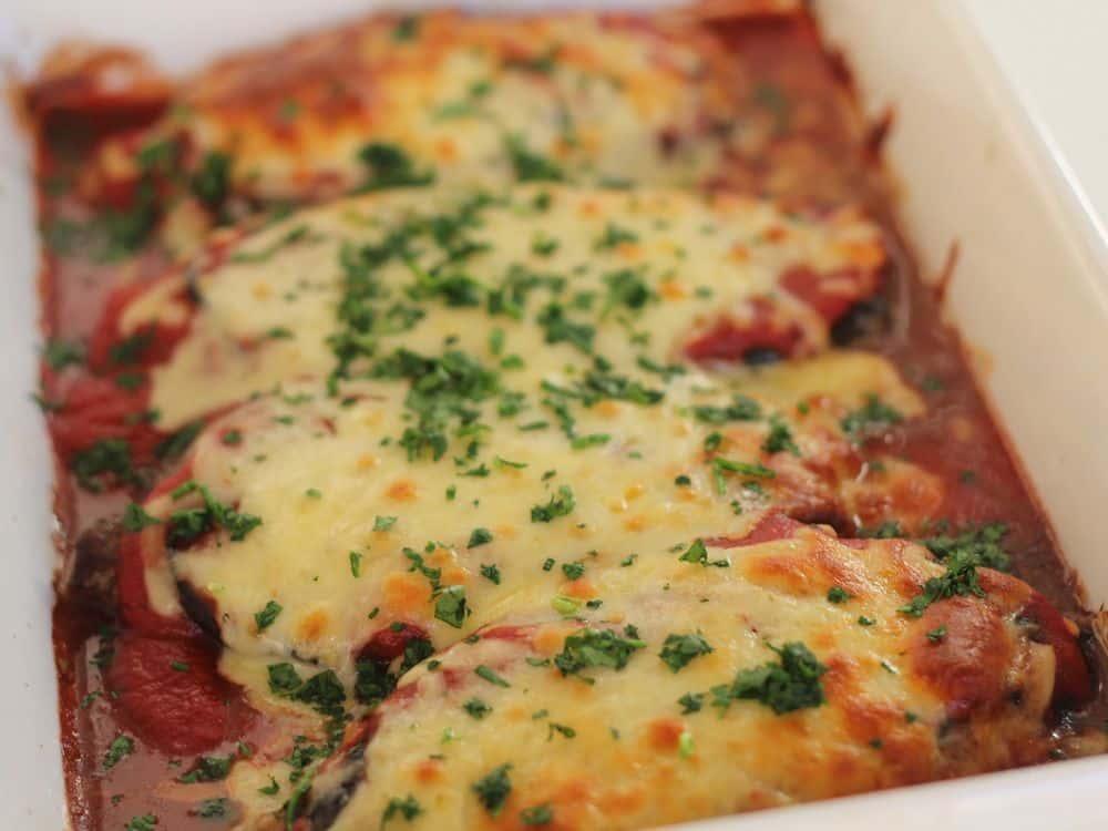 Veal Parmigiana Tray