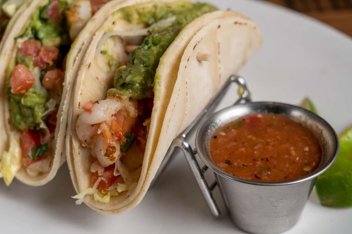 Baja Grilled Shrimp Tacos