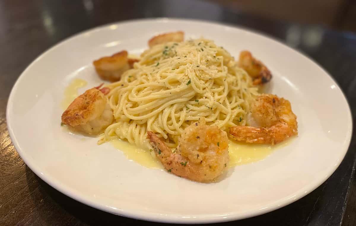 Shrimp & Capellini Pasta