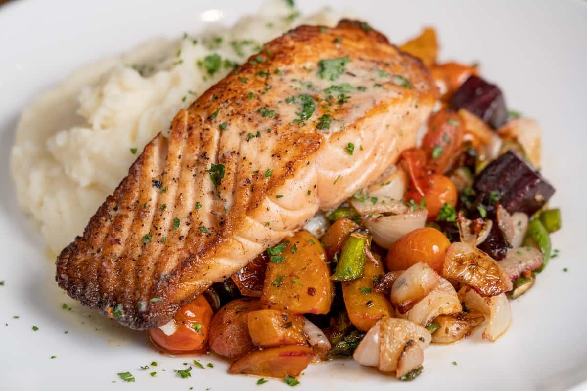 Pan Seared Salmon*