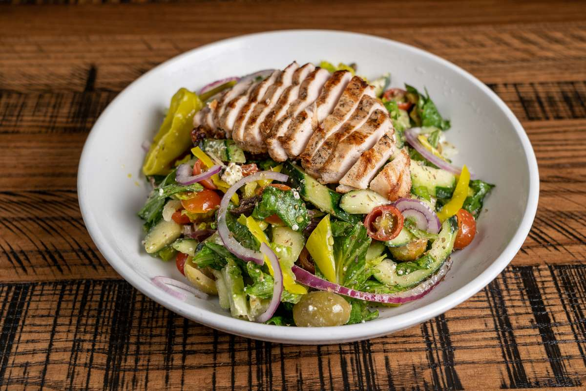 The Greek with Grilled Chicken