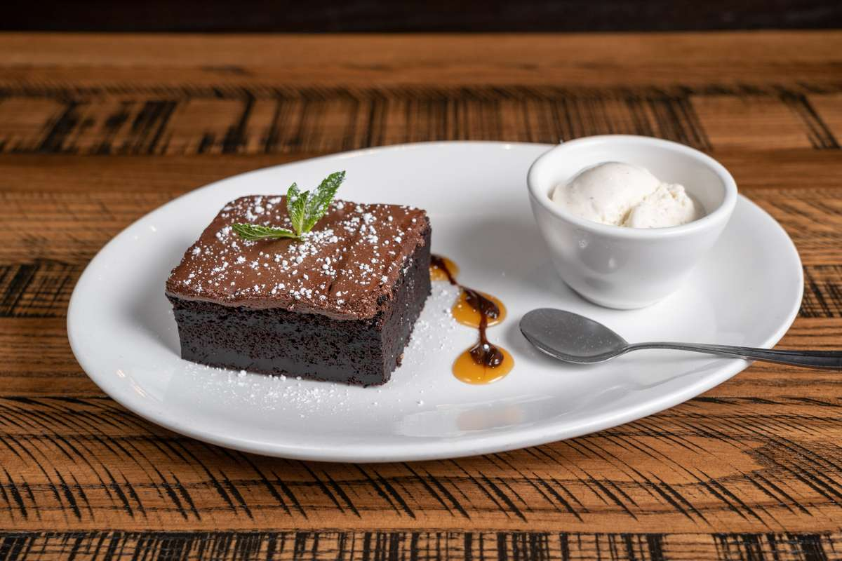 Rockslide Chocolate Cake