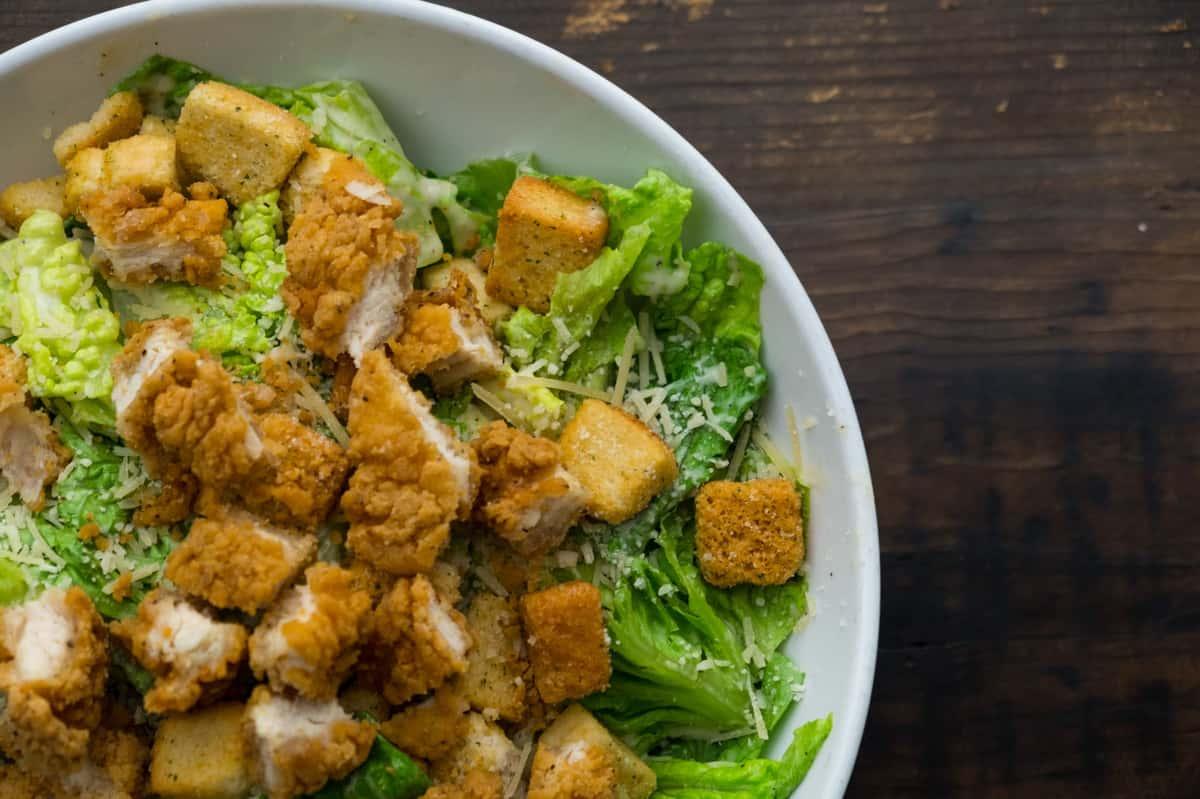 Crispy Chicken Caesar