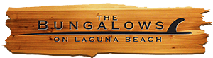 the bungalows on laguna beach logo