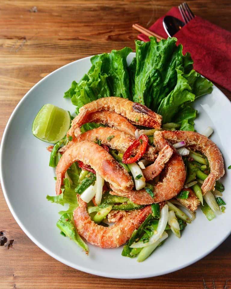 Salt-Pepper Shrimp – Tôm Rang Muổi