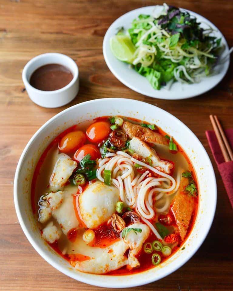 Sole Noodle Soup – Bún Cá