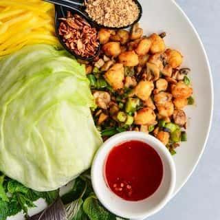 Shrimp (Tôm) Lettuce Wraps