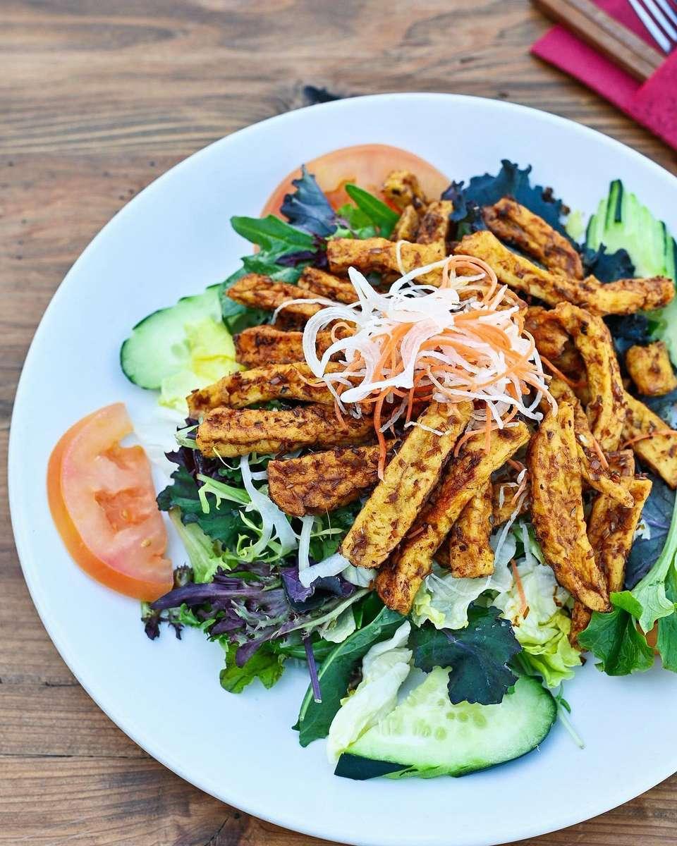 Tofu Salad – Dậu Hủ Xà Lách