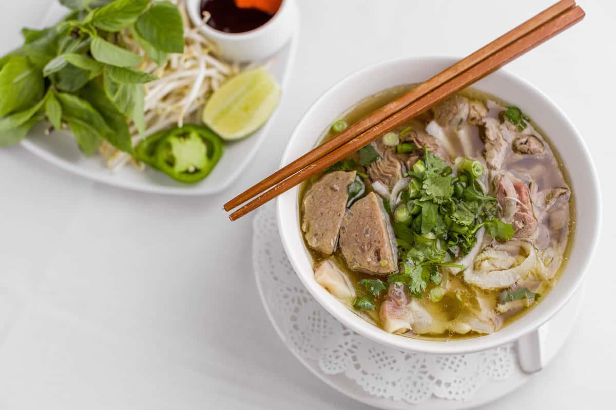 House Special Beef Noodle Soup – Phở Bò Tái, Nạm, Sach & Bò Viên