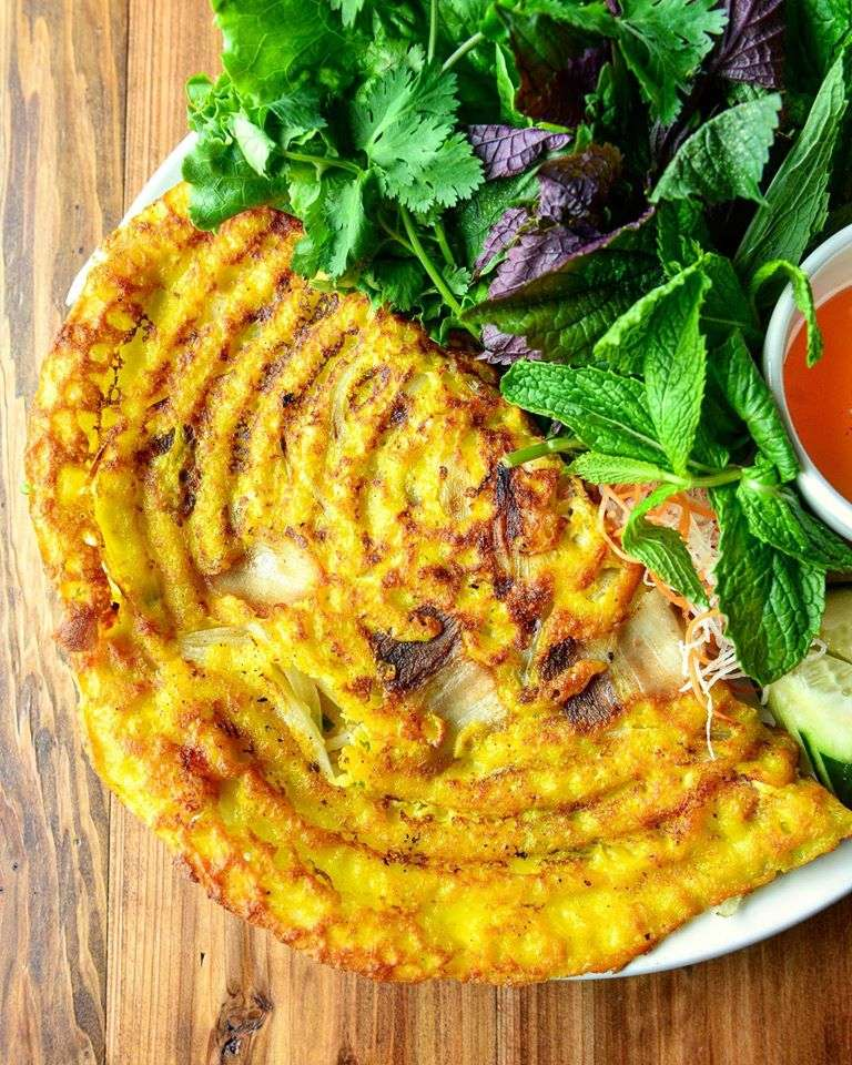 Vietnamese Crepe – Bánh Xèo