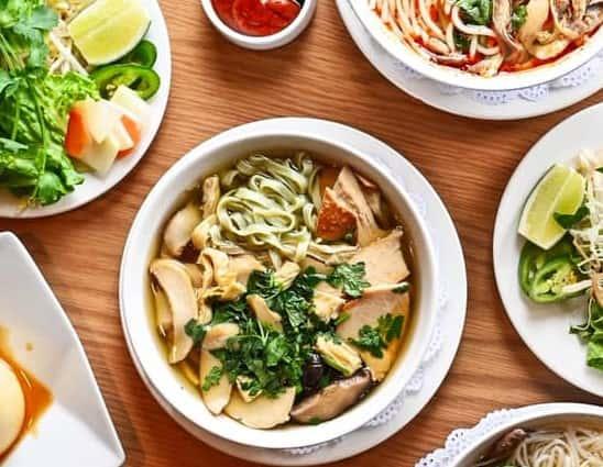 Vegetarian Egg Noodle Soup – Mì Vịt Tiểm Chay