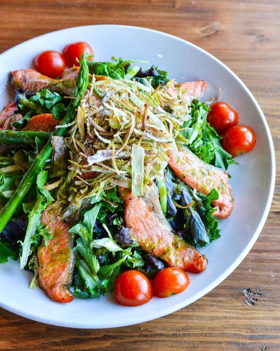 Seared Ocean Trout Salad