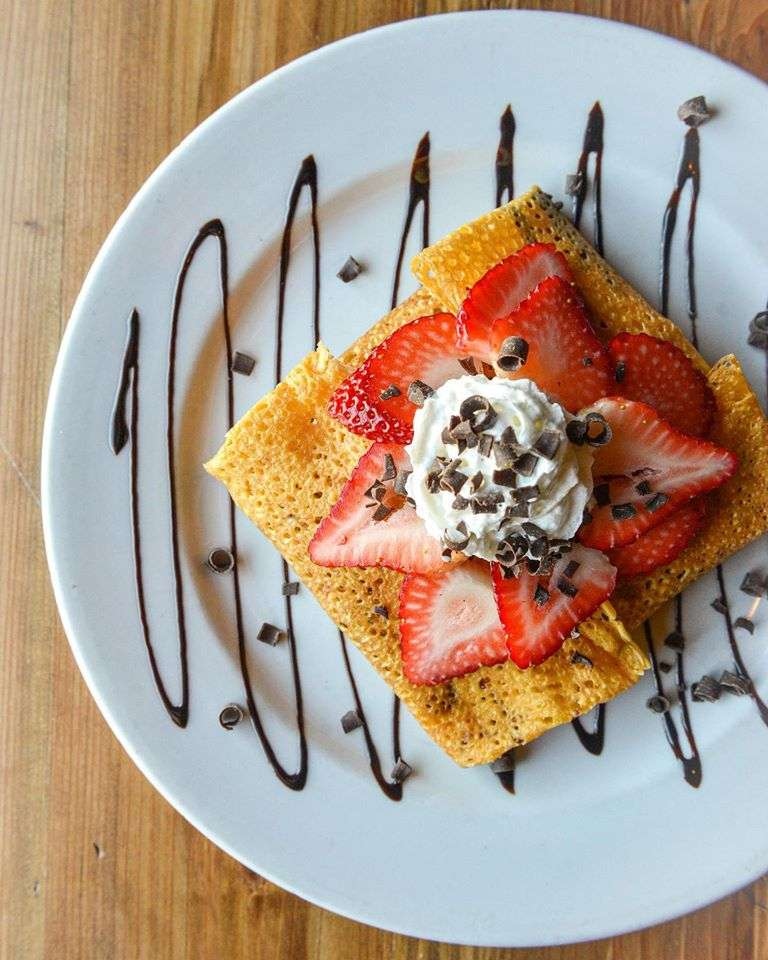 Our Special Strawberry Crepe