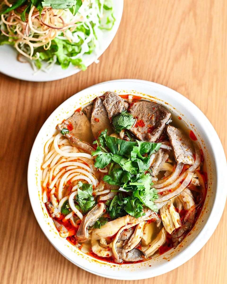 """Huể"" Style Vegetarian Noodle Soup – Bún Bò Huế Chay"