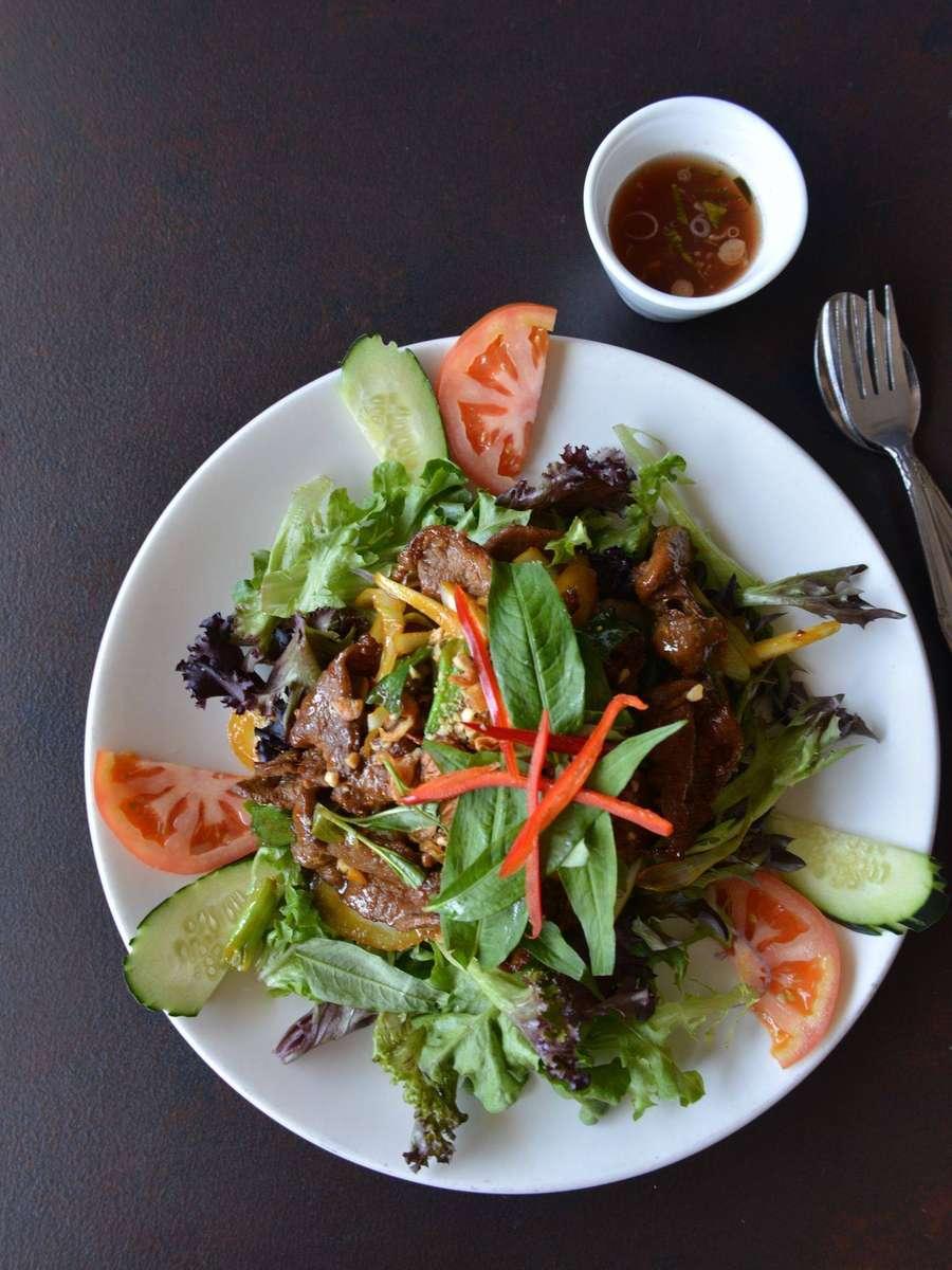 American Wagyu Beef Salad